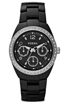 Fossil Ce1043 Berkley Black Ceramic Ladies Watch