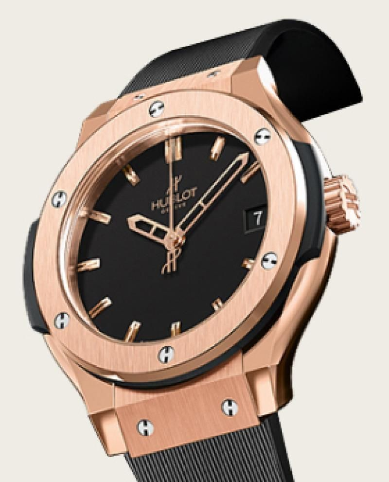 Hublot Womens Watch Rose Gold