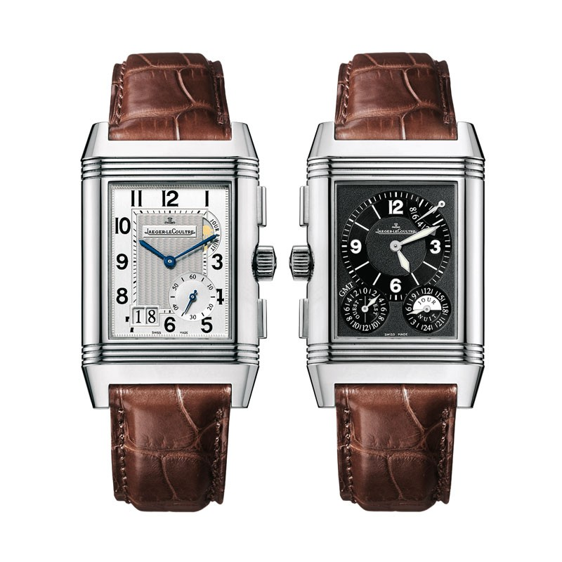 duoface gold mrp mens watches and watch us classic alligator en lecoultre large karat in l jaeger reverso rose