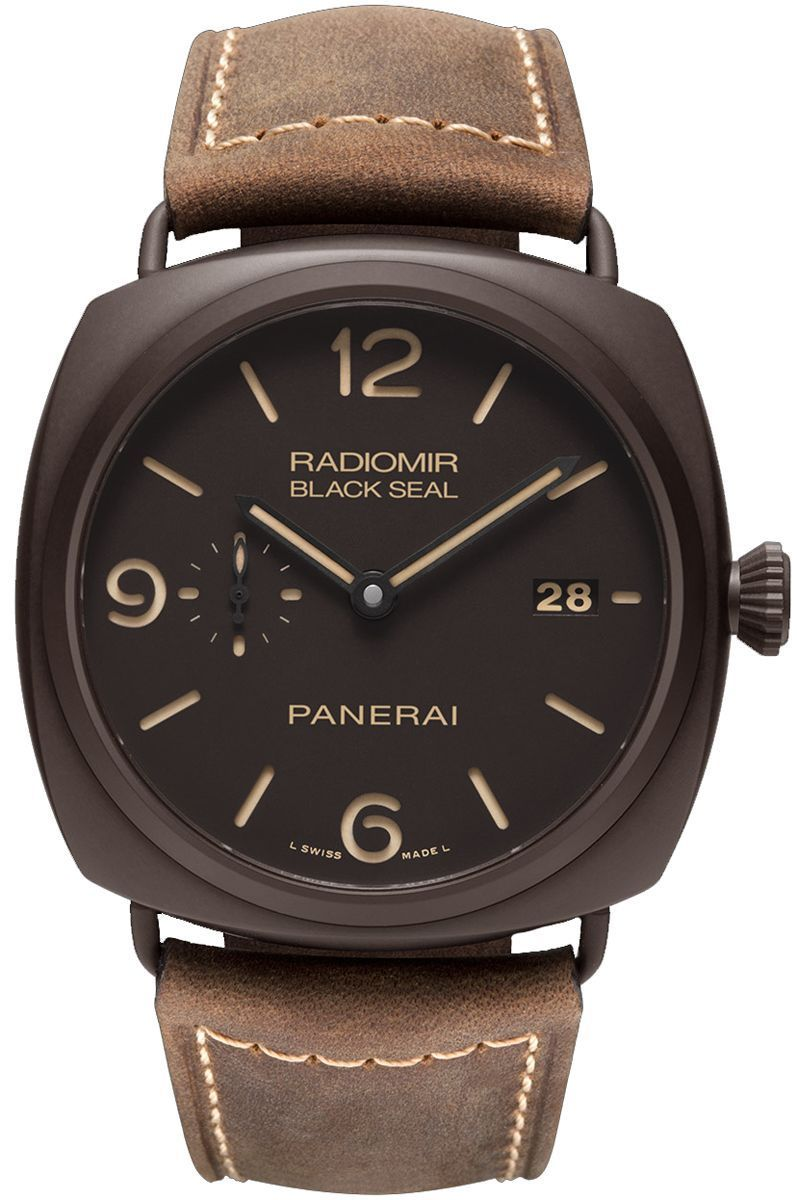 panerai radiomir composite black seal 3 days automatic gents watch pam00505. Black Bedroom Furniture Sets. Home Design Ideas