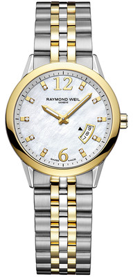 RAYMOND WEIL Freelancer 10 Diamond Ladies Watch 5670-STP-05985