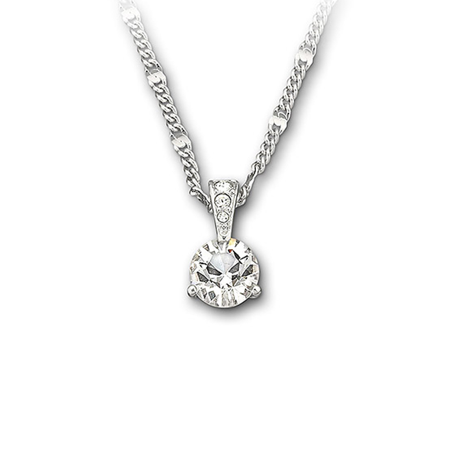 Swarovski solitaire pendant necklace 1800045 aloadofball Images