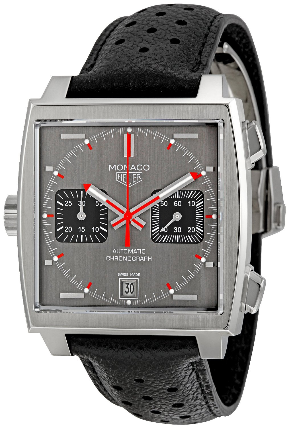tag heuer monaco chronograph gents watch caw211b fc6241. Black Bedroom Furniture Sets. Home Design Ideas