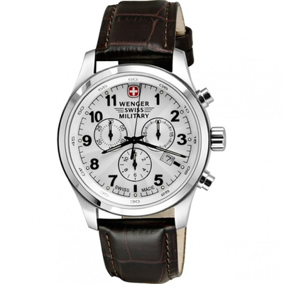 Wenger Swiss Military Cavalry Chrono Watch White