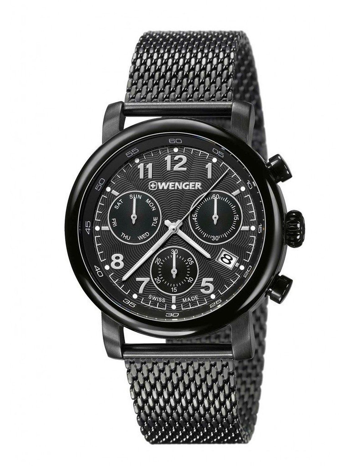 wenger urban classic chrono gents watch. Black Bedroom Furniture Sets. Home Design Ideas