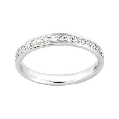0.60ct VS2 I Diamond & Platinum Wedding Ring