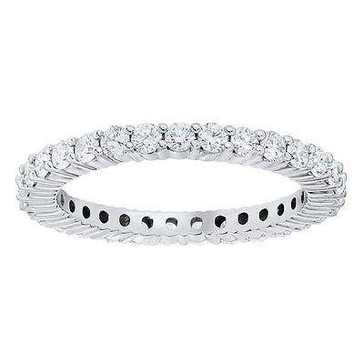 1ct Diamond 18ct White Gold Eternity Ring