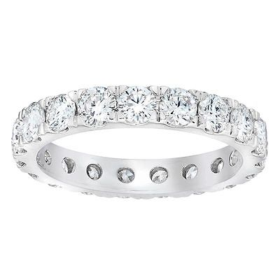 2ct Diamond 18ct White Gold Eternity Ring