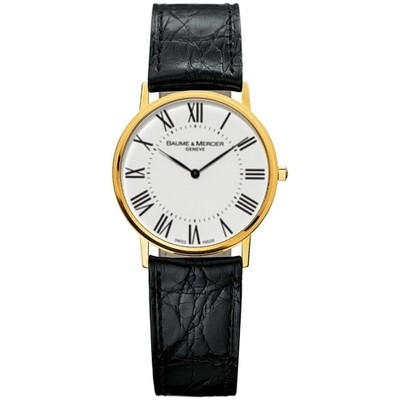 BAUME & MERCIER Classima Executives 18ct Gold Gents Watch 8070