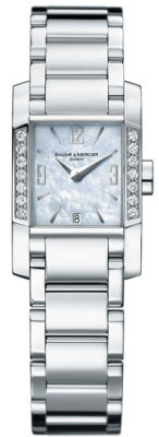 BAUME & MERCIER Diamant Diamond Ladies Watch 8569