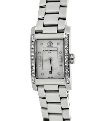 BAUME & MERCIER Hampton Classic 36 Diamond Ladies Watch 8817