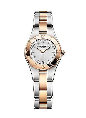 BAUME & MERCIER Linea Rose Gold Ladies Watch 10015