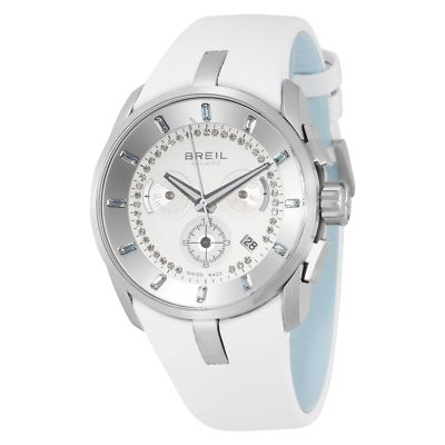BREIL Milano Aquamarine & Diamond Ladies Watch BW0514