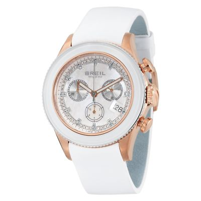 BREIL Milano Aquamarine & Diamond Ladies Watch BW0516