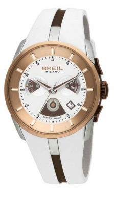 BREIL Milano Gold Chronograph Ladies Watch BW0428