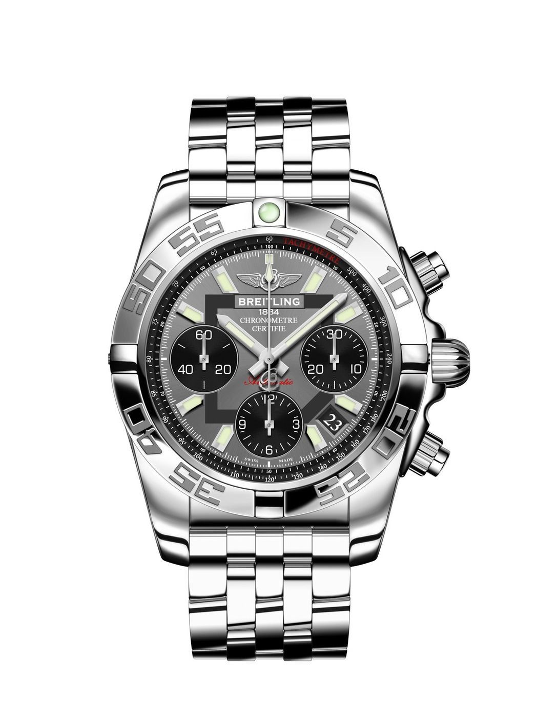 19f7e387bb6 BREITLING Chronomat 41 Automatic Chronograph Gents Watch AB014012 F554 378A