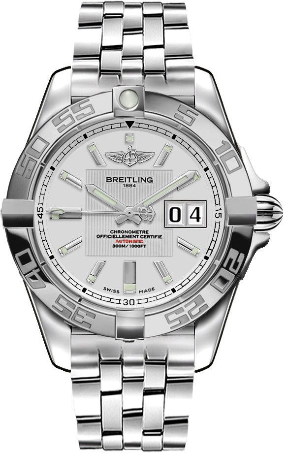 BREITLING Galactic 41 Automatic Gents Watch A49350L2/G699-366A