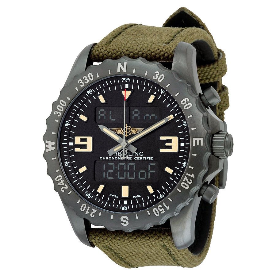 BREITLING Professional Chronopace Military Gents Watch M7836622/BD39/105W