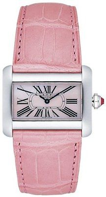 CARTIER Tank Divan Pink Mini Ladies Watch W6301455