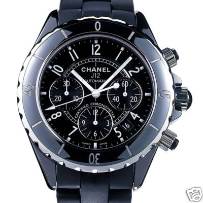 CHANEL J12 41mm Black Ceramic AUTOMATIC Watch H0939