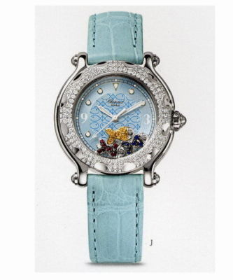 CHOPARD Happy Beach Diamond Ladies Watch 27/8922