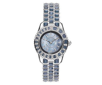 CHRISTIAN DIOR Christal Diamond & Blue Sapphire Ladies Watch CD11211CM001