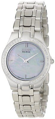 CITIZEN Eco-Drive Stiletto 42 Diamond Ladies Watch EG3150-51D