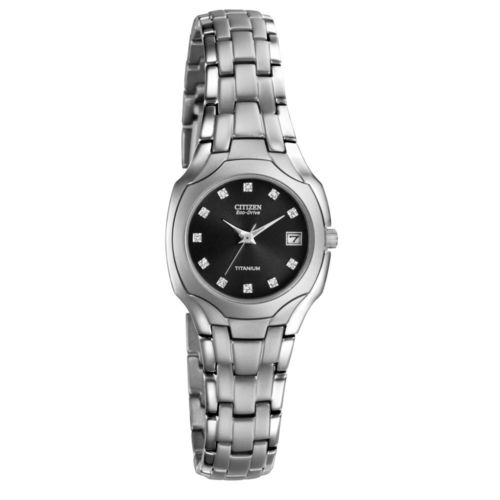 CITIZEN Eco-Drive Titanium Crystal Ladies Watch EW1400-53G