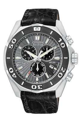 CITIZEN Signature Eco-Drive Perpetual Chrono Gents Watch BL5440-07H