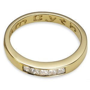 CLOGAU GOLD Am Byth 18ct Gold & Diamond Ring - 18AB001