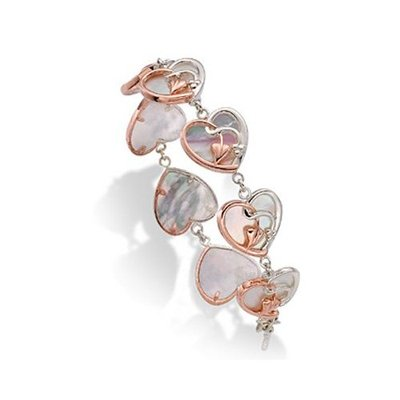 CLOGAU GOLD Together Forever Bracelet Silver & Rose Gold SMTOLB