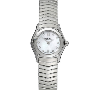 EBEL Classic Wave Ladies Watch 9656F01-9725