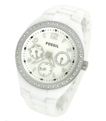 FOSSIL CE1042 Berkley White Ceramic Ladies Watch