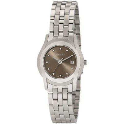 GUCCI G-Class 11 Diamond Ladies Watch YA055523