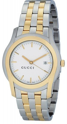 GUCCI G-Class Steel & Gold Gents Watch YA055214
