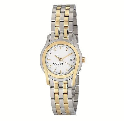 GUCCI G-Class Steel & Gold Ladies Watch YA055520