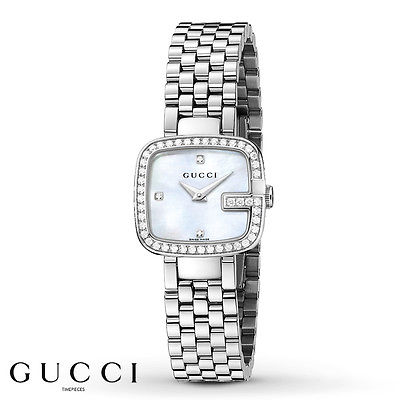 GUCCI G-Gucci 45 Diamond Ladies Watch YA125519