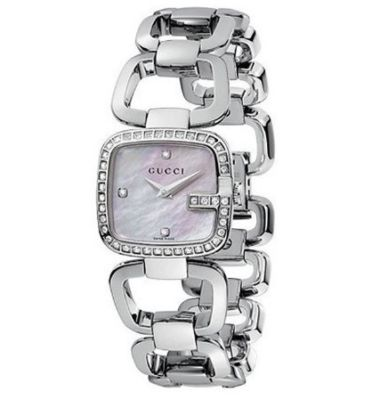 GUCCI  G-Gucci Diamond Ladies Watch YA125506