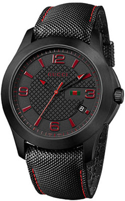 GUCCI G-Timeless Black Gents Watch YA126224
