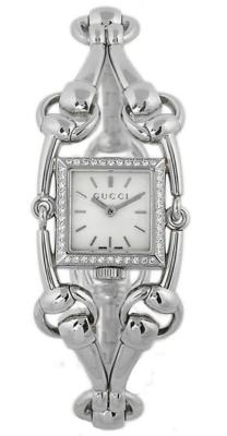 GUCCI Signoria Petite 44 Diamond Ladies Watch YA116513