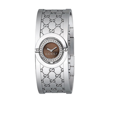 GUCCI Twirl 34 Diamond Ladies Watch YA112503