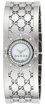 GUCCI Twirl 44 Diamond Ladies Watch YA112514