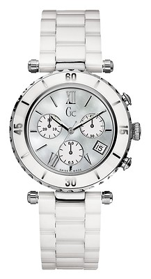 02806d62a GUESS Collection Gc Diver Chic Ceramic Ladies Watch 43001M1