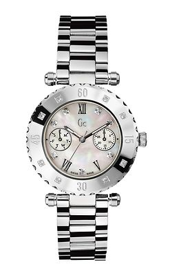 GUESS Collection Gc Precious Diver Chic Diamond Ladies Watch X42106L1S