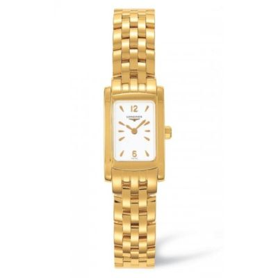 LONGINES DolceVita 18ct Gold Ladies Watch L5.158.6.16.6