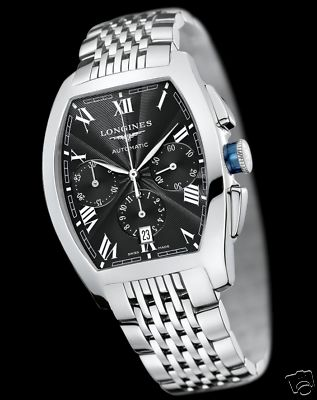 LONGINES Evidenza AUTOMATIC Chrono Watch L2.643.4.51.6