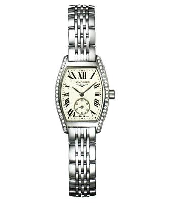 LONGINES Evidenza Diamond Ladies Watch L2.175.0.71.6