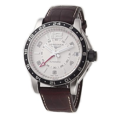 LONGINES Sports Admiral GMT AUTO Gents Watch L3.668.4.76.3
