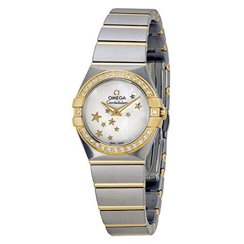OMEGA Constellation Gold 40 Diamond Ladies Watch 123.25.24.60.05.001