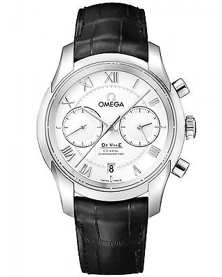 OMEGA De Ville Co-Axial Automatic Chronograph 42mm Gents Watch 431.13.42.51.02.001